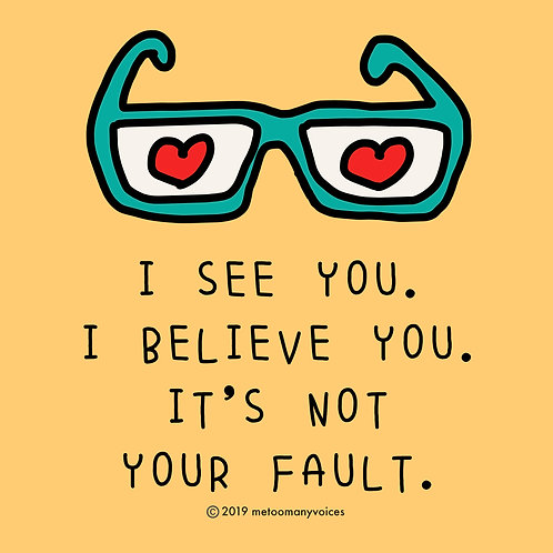 It's Not Your Fault Print