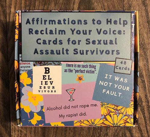 Affirmation Cards for Survivors