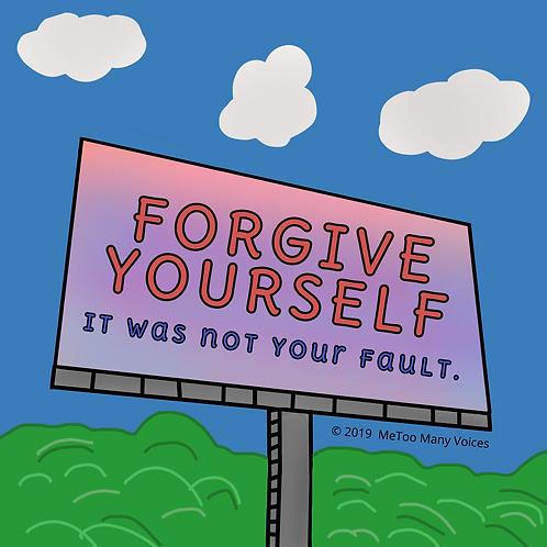 Forgive Yourself Billboard Print