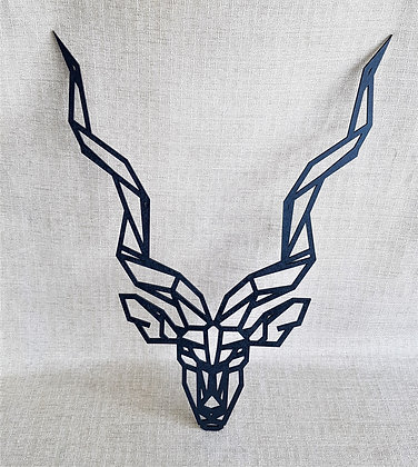 Geometric Kudu Head