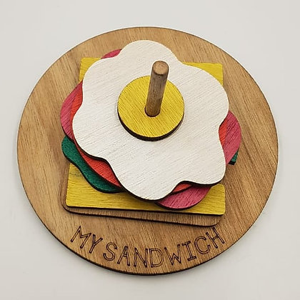 The BIG Sandwich Stacking Puzzle