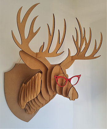3-D Model - Stag