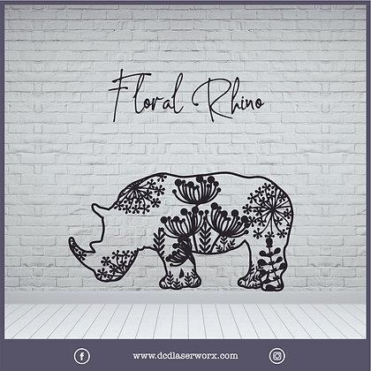 Floral Rhino