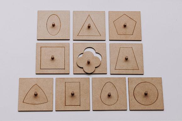 Shape Puzzle - Large Format