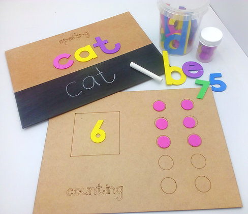 Spelling & Counting Kit