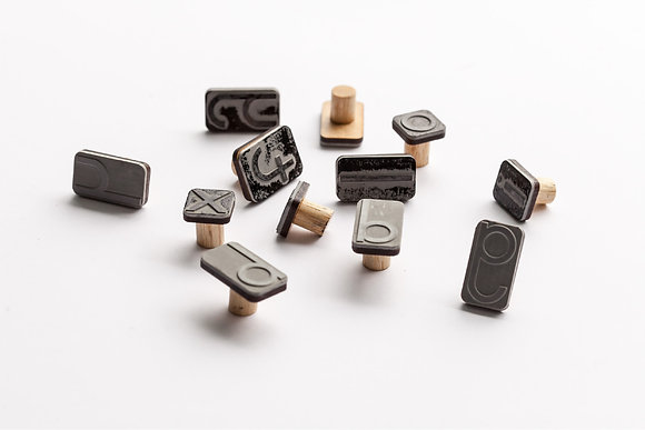 Rubber Stamps - Moveable Alphabet