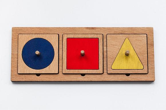 Geometric Shape Starter Puzzle