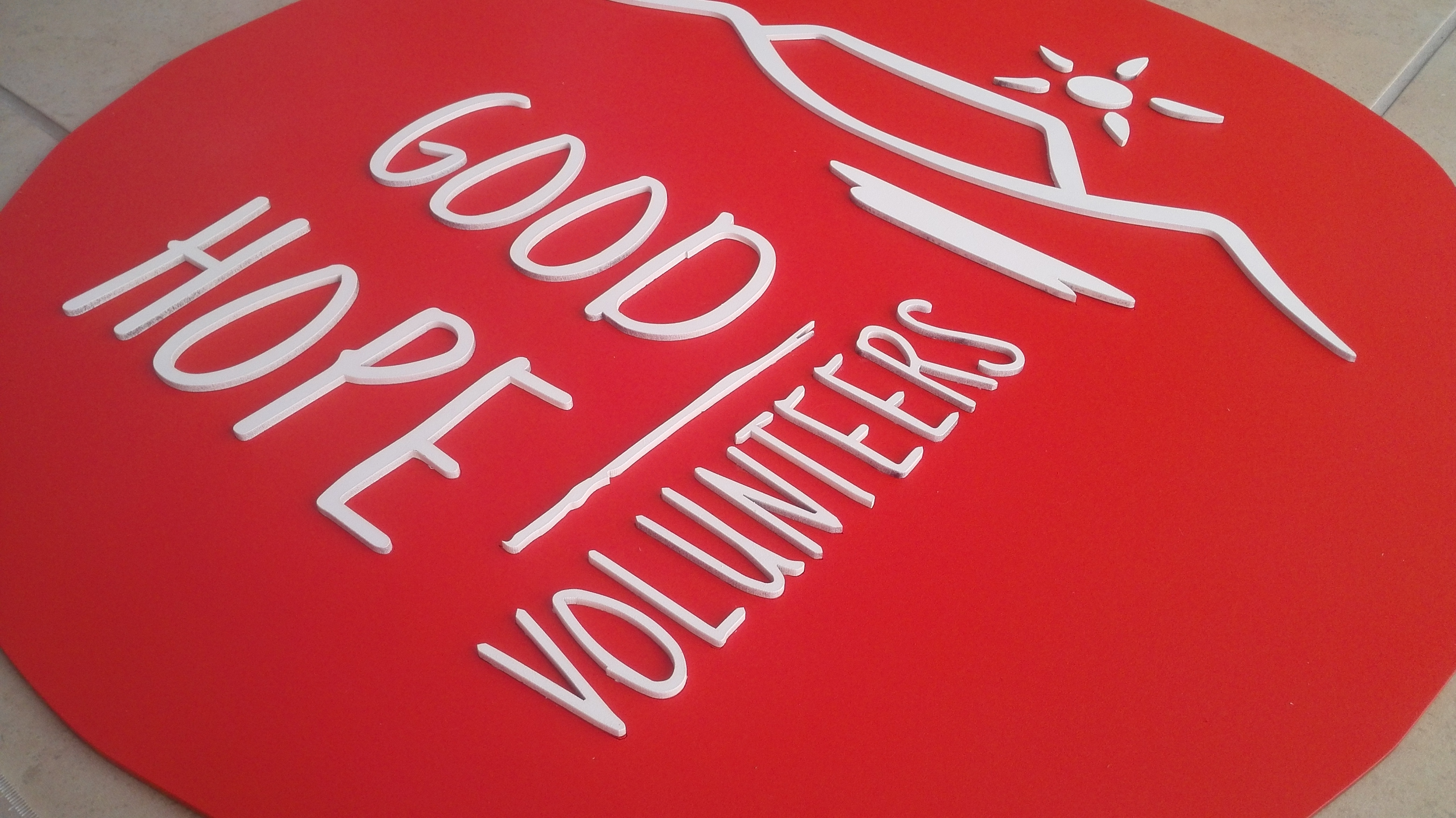 Logo for a volunteer organisation