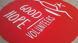 Logo for a volunteer organisation