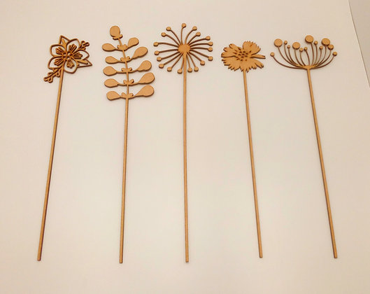 Wildflowers - Set of 5