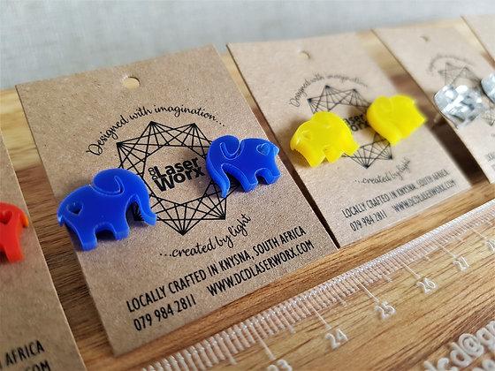 Mini Elephant Stud Earrings