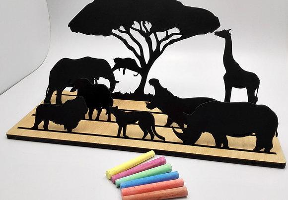 The BIG Africa Silhouette Scene