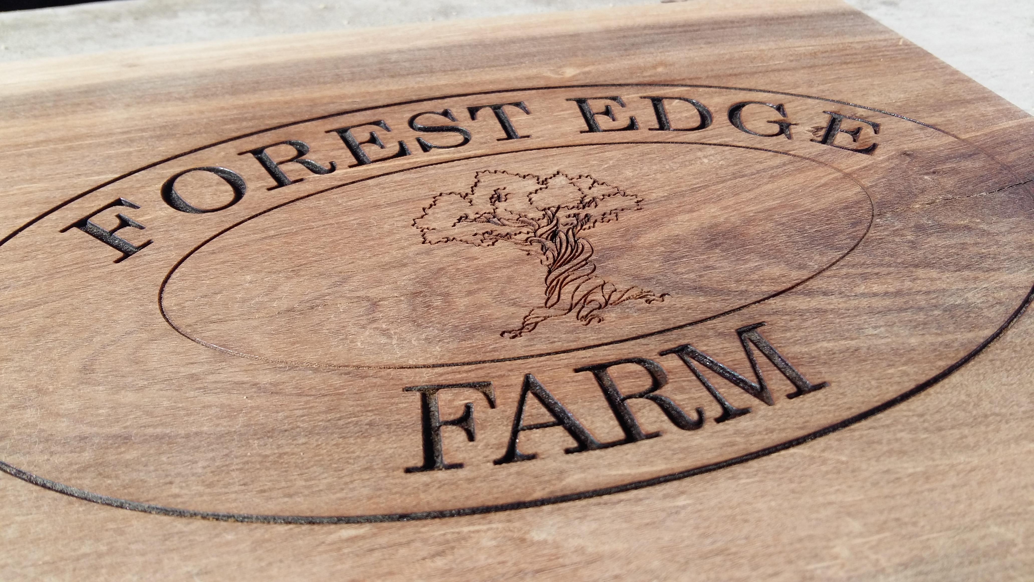 Laser Engraved Wood