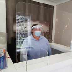 Perspex Protection Screens