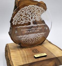 School trophy for Dux Scholar