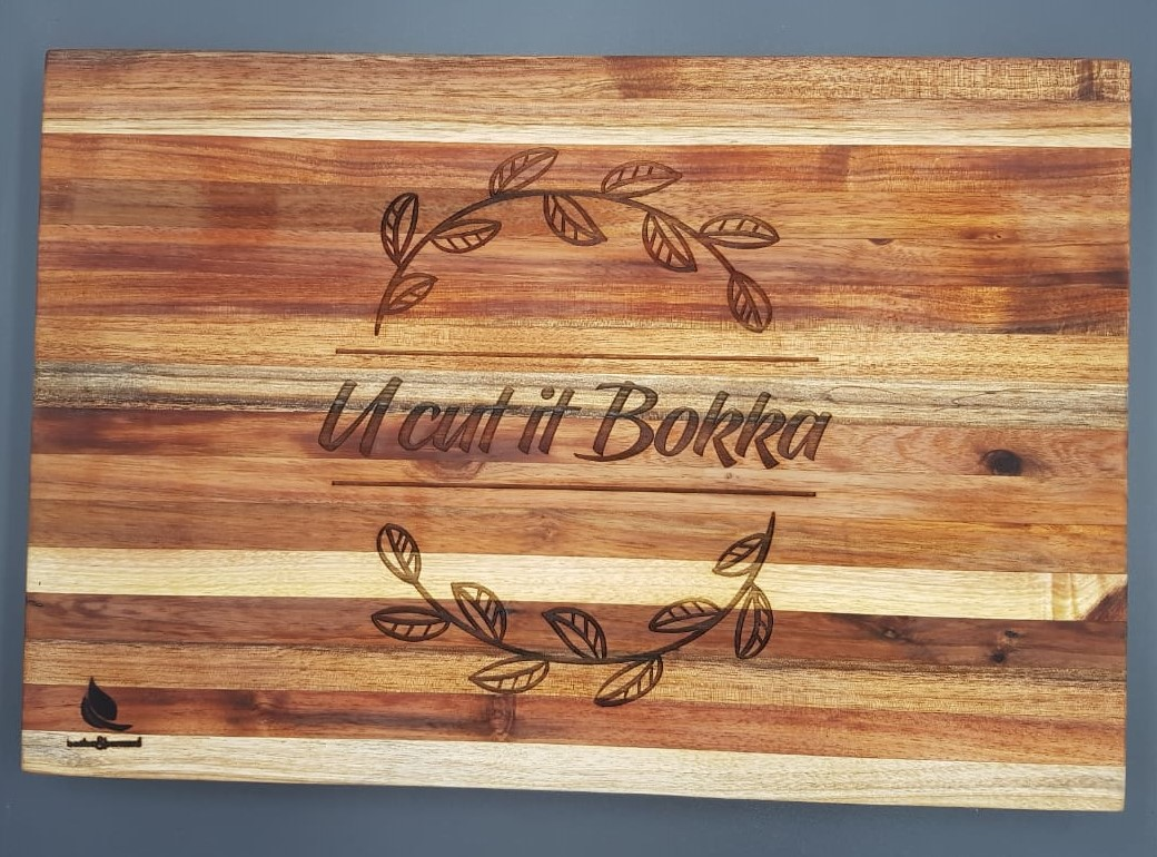 Personalised chopping block