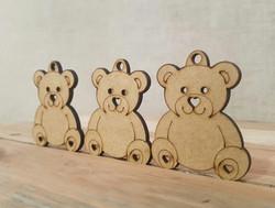 Keyrings for a Teddy Bear's picnic