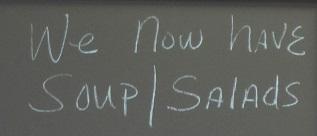 Soup Salad board