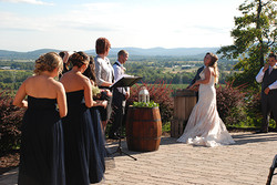 Wedding on Terrace