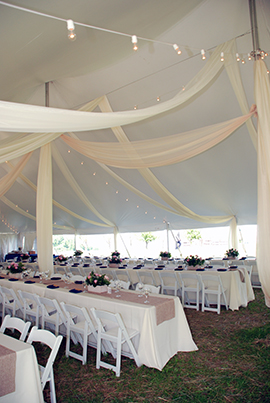 Long Tables Under Tent