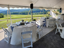 Tables Under Tent 3