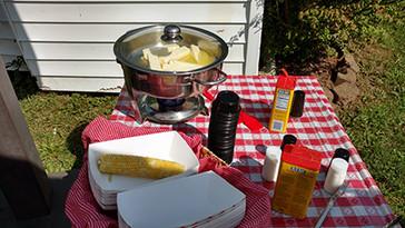 Corn Butter Station