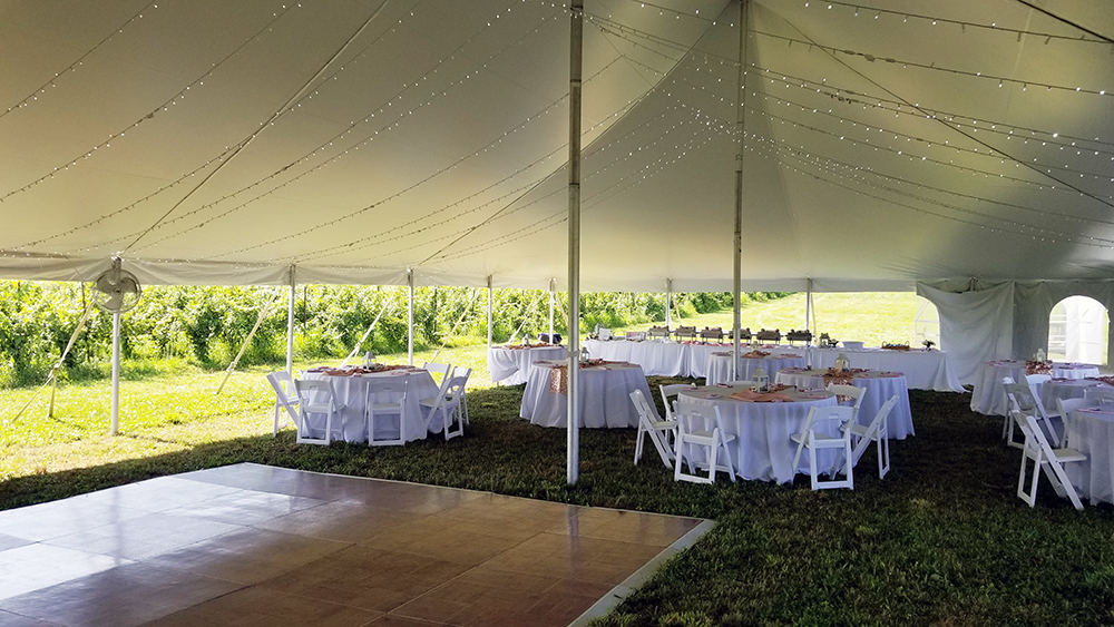 Tables Under the Tent