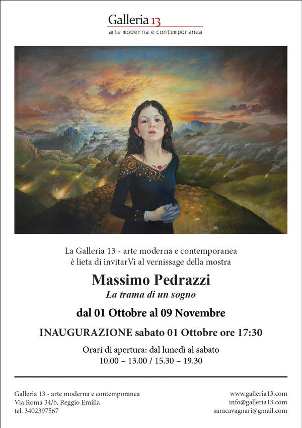 Massimo Pedrazzi: La Trama di un Sogno - Galleria 13
