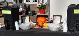 Fall Theme Drink Stand