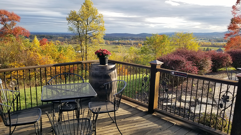 Oct View From Deck