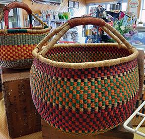 Fair trade baskets 2