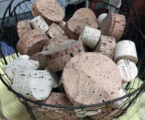 Basket of Corks
