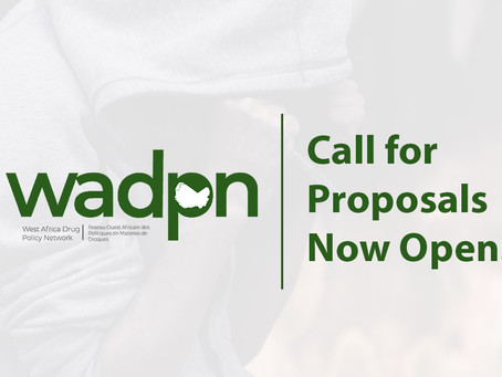 Call for Proposals to Promote Drug Policy Reform in West Africa