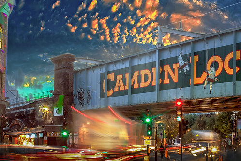 Camden lock night