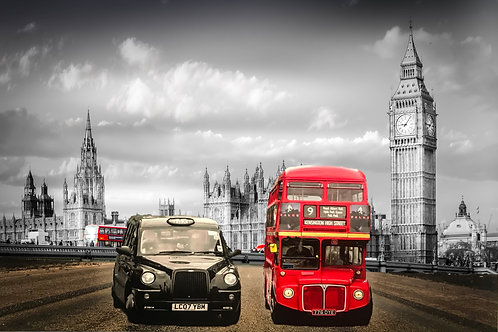 Westminster bus and taxi