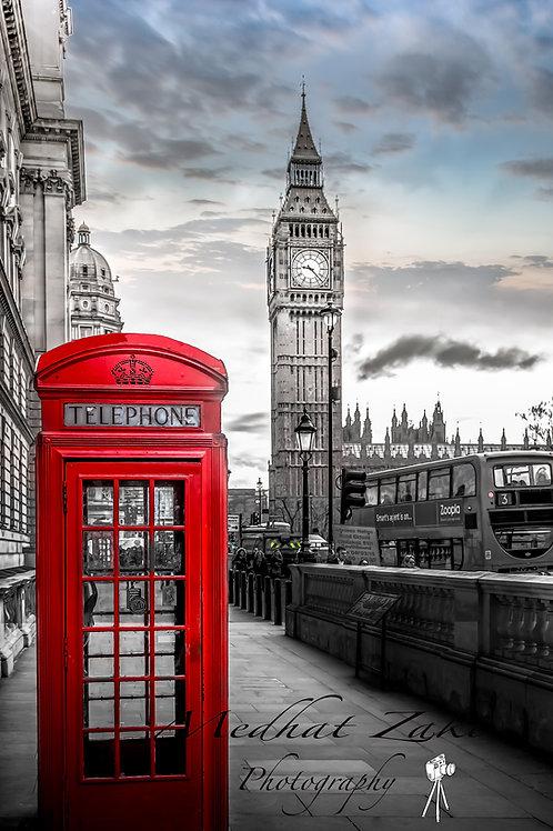 Westminster blue sky
