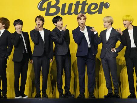 BTS『Butter』、ビルボード7週連続で1位…新曲『PTD』のバトンタッチが目の前に