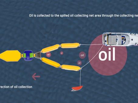 油汚染対応における油回収機