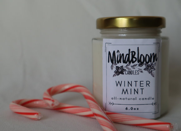 Winter Mint Candle