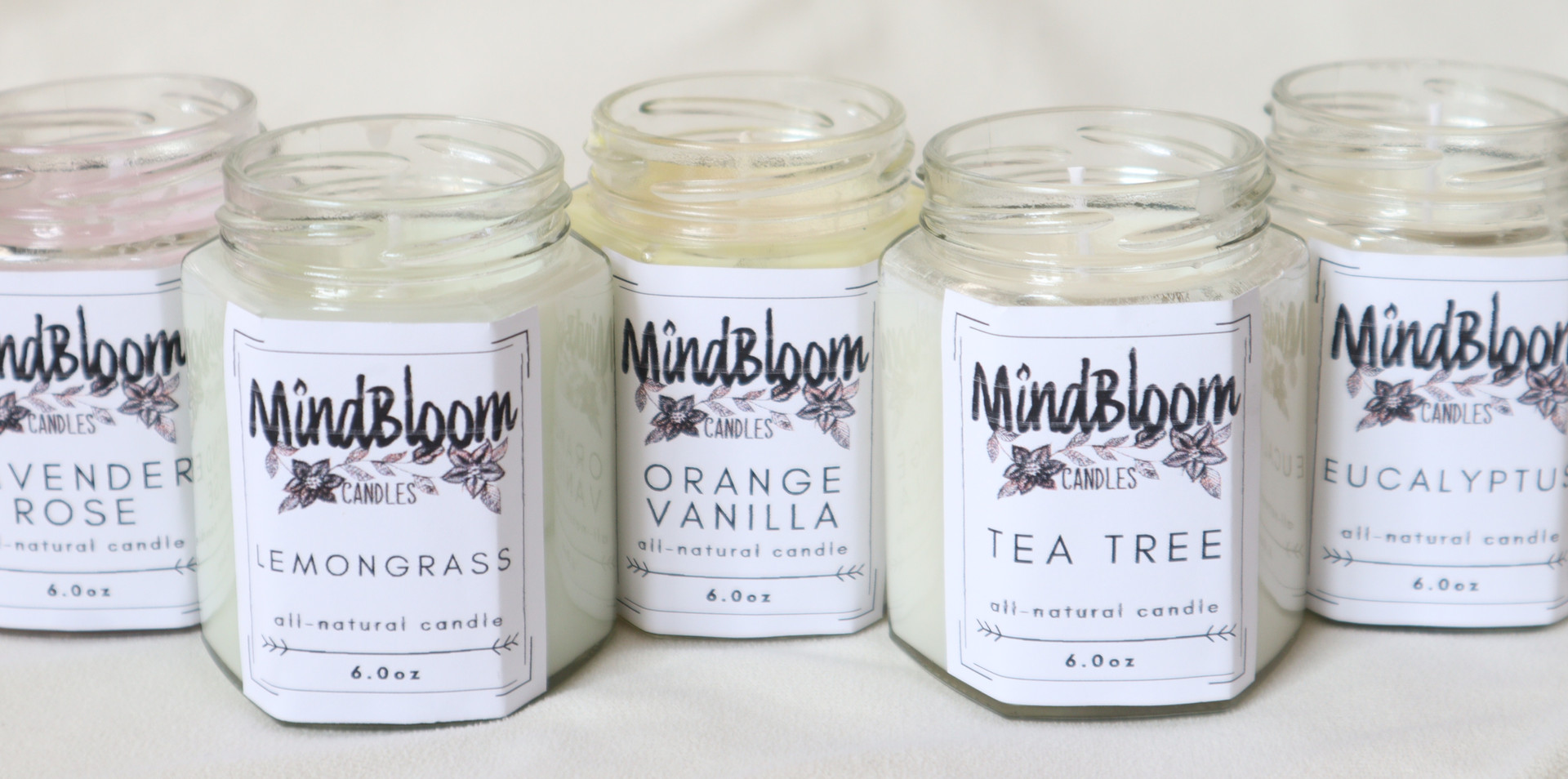 MindBloom Candles
