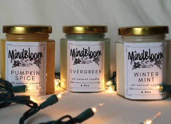 Holiday Candle Trio
