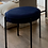 Thumbnail: Stool linen seating on metal feet