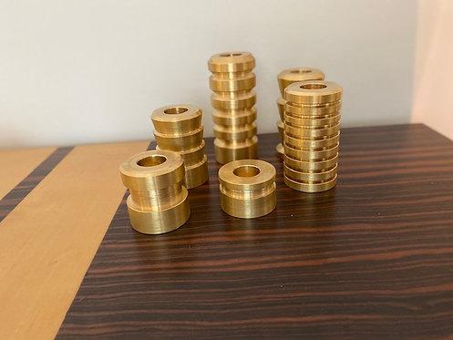 Candleholder Massive Brass