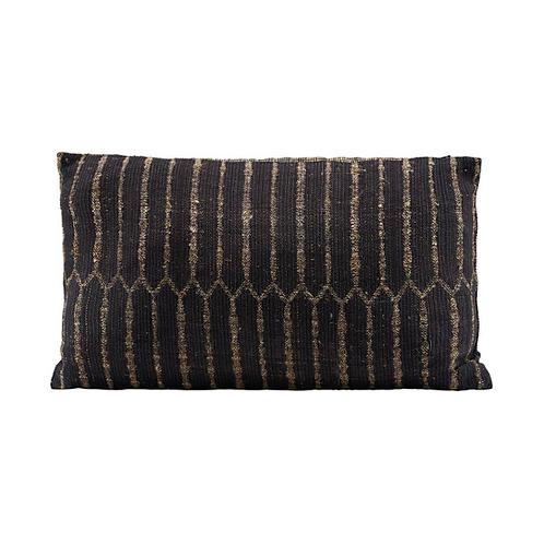 Black Cushion Cover 50x30cm