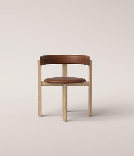 Principal Chair Oak-Leather