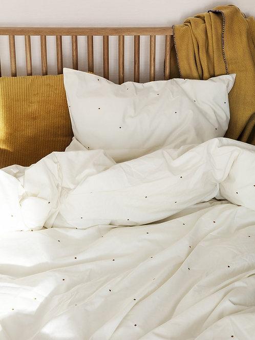 Dot Embroidery Bedding Set 140x200