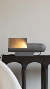 Concrete Brutalist Lamp