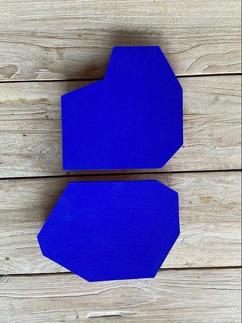Artwork Minimal Duo Cobalt
