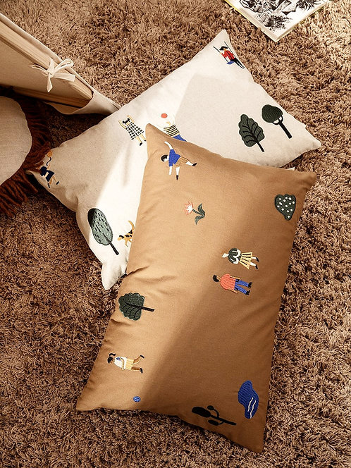 Embroidered Cushions  60 x 40 cm