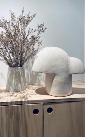 Ceramic Lamp by Elisa Uberti